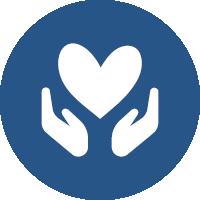 Logo - Herz in Händen