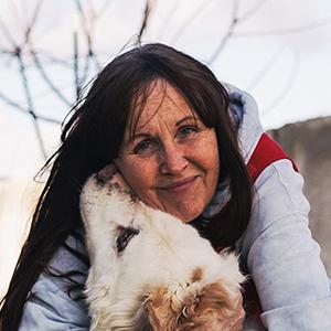 Tierheimleiterin Bettina Hüttemann in der örtlichen Tötungsstation